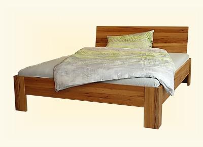 Massivholzbett schwebend  CALYPSO ... das Fachgeschäft für Naturmöbel, gesundes Schlafen und ...