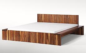 Holzbett schwebend  CALYPSO ... das Fachgeschäft für Naturmöbel, gesundes Schlafen und ...